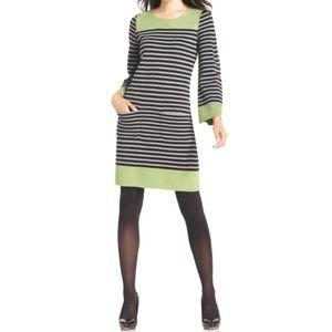 Eliza J Striped Sweater Dress.